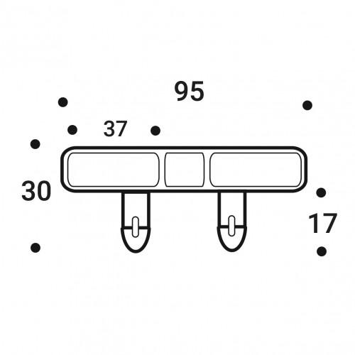 Латодержатель накладной 35 мм