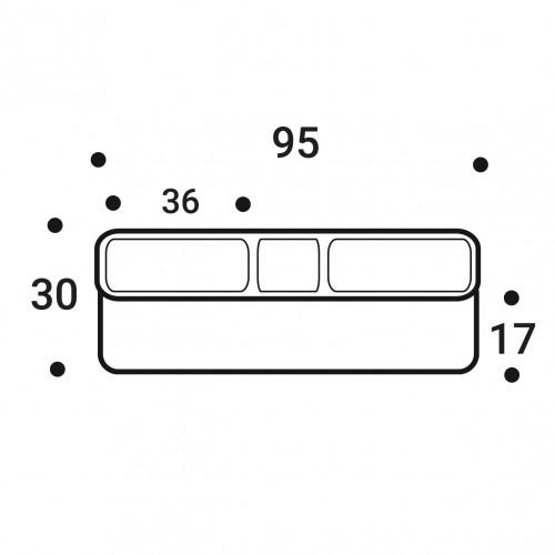 Латодержатель пристреливаемый 35 мм (SUPER)