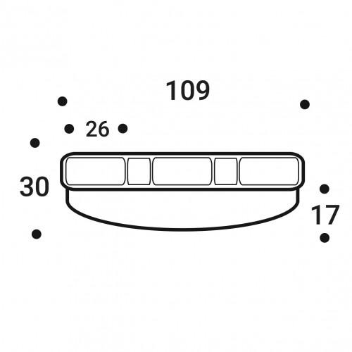 Латодержатель пристреливаемый 25 мм (LUX)