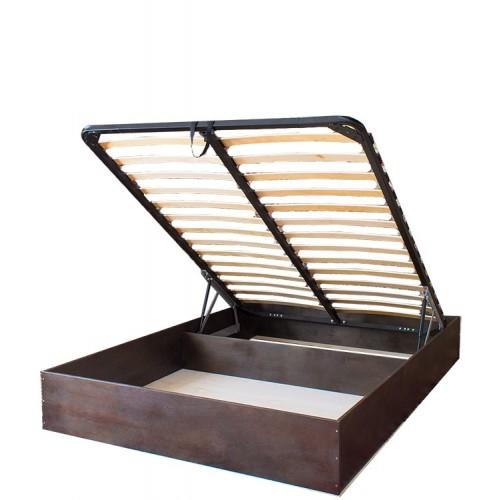 """Кровать с механизмом подъема «Классик.GM», цвет """"Венге"""""""